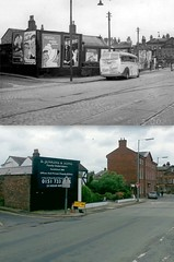 Church Road, Wavertree, 1950s and 2016 (Keithjones84) Tags: liverpool oldliverpool rephotography thenandnow history merseyside architecture