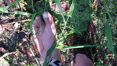 photo_2016-08-09_20-54-37 (bfe2012) Tags: barefoot barefeet barefooting barefooted barefooter boy barefoothiking baresoles barefoothiker barfuss feet freedom forest foot lifestyle barefootlifestyle muddyfeet dirtyfeet indian dirty nature toes tough toughsoles grass hiking soles shoes swamp muddy marshland marsh myshoes woodland woods hiker