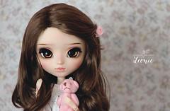 Leonie (Mikiyochii) Tags: doll pullip cute kawaii bear pullips groove mio kit fair repaint custom mikiyochii