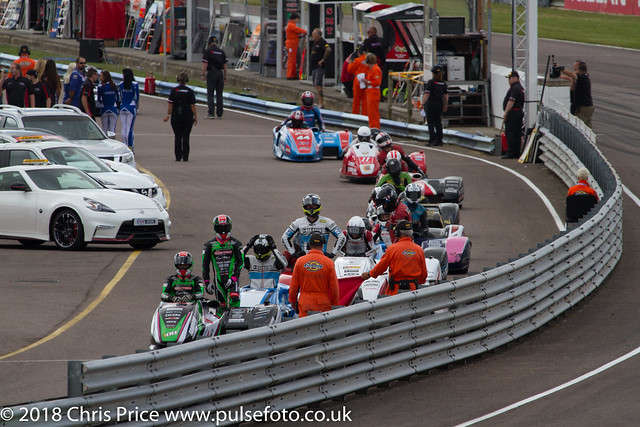 Hyundai Heavy Industries British Sidecars Race 3, Thruxton July 24th 2016
