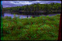 Raby Lake 3-D / Kill Bear Park / Ontario / Anaglyph / Stereoscopy / HDR / Raw (Stereotron) Tags: north america canada province ontario provincialpark killbear rabylake lake river creek tree plants forest woods outback backcountry anaglyph anaglyph3d redcyan redgreen optimized anaglyphic anabuilder 3d 3dphoto 3dstereo 3rddimension spatial stereo stereo3d stereophoto stereophotography stereoscopic stereoscopy stereotron threedimensional stereoview stereophotomaker stereophotograph 3dpicture 3dglasses 3dimage twin canon eos 550d yongnuo radio transmitter remote control synchron in synch kitlens 1855mm tonemapping hdr hdri raw 3dframe fancyframe floatingwindow spatialframe stereowindow window