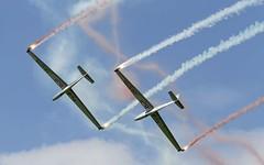 LET L-13 Blanik - Blanix Team @ LOXZ (stecker.rene) Tags: l13 let oe5733 oe0758 blanix blanik flyingbulls redbull glider formation sky smoke cn175230 clouds airpower16 airpower2016 airpower airshow aerialdisplay flyingdisplay canon eos7d tamron 150600mm loxz hinterstoisser zeltweg austria czech 2016