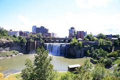 Summer Falls (juliafrenchfrey) Tags: water waterfall waterfalls highfalls rochester rochesterny geneseeriver genesee