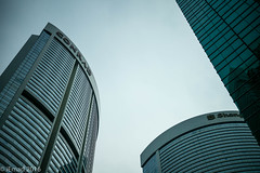 Curved... (EHA73) Tags: aposummicronm1250asph leica leicamp typ240 conrad shangrila towers skyscrapers buildings curved travel hongkong pacificpalace architecture
