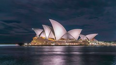 Sydney Opera House (Jerry Skinner) Tags: water sydneyharbour harbour icon night sydney sydneyoperahouse