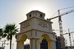 The Pearl-Qatar (jbdodane) Tags: thepearl thepearlqatar cranes doha middleeast qatar