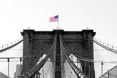 """May our liberty never die, in pride we fly her high"" - Roger W Hancock (Lidiya Nela) Tags: nyc brooklynbridge usa newyork newyorkcity"