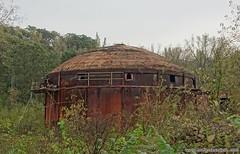 The kiln. Full article here: http://www.placesthatwere.com/2016/08/beautiful-abandonment-nature-reclaims.html #abandoned #abandonedplaces #decay #abandonedbuilding #derelict #Iowa #industrialdecay #urbex #urbanexploration #lehigh #brick #rust #kiln #ewok (placesthatwere) Tags: abandoned urbanexploration ghosttowns urbex rurex abandonedplaces forgottenplaces urbandecay decay beautifuldecay