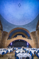 20160820_F0001: Banquet in the chapel (wfxue) Tags: kelhamhall kelham building architecture house mansion dome ceiling preparations party banquet event
