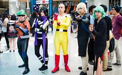 2016 Anime Expo - Mumen Rider, Sonic, Saitama, Genos, and Tatsumaki (mambastic photography (aka mamba909)) Tags: pentax k01 sigma2470mmf28ifexdghsm animeexpo animeexpo2016 cosplay