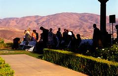 """A Wedding Overlook!"" (muirtrail68) Tags: wedding people visiting view hills film fujivelvia nikon f100 scan coolscan4000"