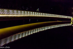 Canberra by Night (Iain Cole) Tags: nightshoot canberra carillion reflections highway fog