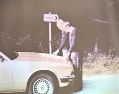 Picture from the 1986 XJ40 press drives... (Pim Stouten) Tags: dunkeld jag jaguar xj xj40