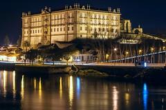 CRW_9888 (Diamantino Dias) Tags: portugal vila do conde rio ave noite gua luz nocturno flores canon espelho