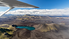 Blhylur crater Lake | Iceland from Above (Julien Ratel ( Jll Jnsson )) Tags: islande iceland inspiredbyiceland julienratel jullijonsson julienratelphotography blueju blueju38 canon eos7dmarkii efs1022 icelandic islenska islenski lveldisland landscape paysage landslag landslagsmynd spring wandering earthpix welivetoexplore icelandexploring neverstopexploring flightseeing icelandfromabove aboveiceland atlantsflug reconnaissanceflight flight sightseeingflight highlandsoficeland hlendi blhylur crater lake craterlake