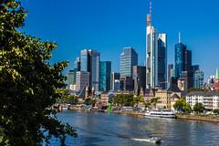 Money, Money, Money (Ingo Klever) Tags: frankfurt hochhuser skyline bank geld wasser main ffm