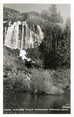 [IDAHO-Q-0021] Thousand Springs - Snake River (waterarchives) Tags: idaho realphotopostcardrppc river springs thousandsprings snakeriver falls lonejuniperfalls