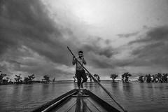 """"" (Sayed Sanjan) Tags:    bangladesh sylhet majhi nikon nikond750 monochrome boat sky people ora haor  tanguarhaor tanguar outdoor blackandwhite"