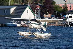 Private Maule M-7-235B N235RS (jbp274) Tags: greenville greenvilleseaplaneflyin mooseheadlake flyin airplanes seaplane floatplane 52b lake water maule m7