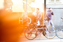 267 / 366 - Solar Flare (Pamela Saunders) Tags: street blur motion dof 366 366project vancouver granville