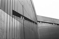 Jewish Museum (DavidTrebicky) Tags: bw white black berlin film museum architecture 35mm lenstagged pentax 55mm sp ii jewish spotmatic pan blackout ilford sp2 135mm logic spii takumar55f18 smctakumar55f18 takumarsmc55f18