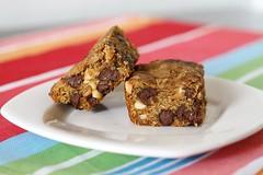 Salty & Sweet Blondies (adashofsass) Tags: food bar recipe cookie chocolate peanut sweets blondie baked