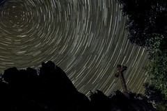Vortex (frank-heinen-photographer) Tags: sky copyright vortex stars deutschland nikon photographer cross nacht natur himmel astro eifel kreuz nrw landschaft deu nordrheinwestfalen startrails sterne lich nachthimmel starlitsky d700 afsnikkor2470mm128ged frankheinen frankheinen