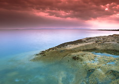 Pink and Blue (PeterYoung1) Tags: longexposure pink blue sea seascape water seaside rocks colours flickrstruereflection1 flickrstruereflection2 flickrstruereflection3 flickrstruereflection4 flickrstruereflection5 flickrstruereflection6
