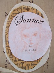Sonnet Sketch (Jordan Taylor - The Free Folk) Tags: art ooak sewing shakespeare romantic artdoll sonnet shabby clothdoll