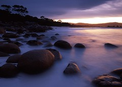 Binalong Bay Boulders Tassie (Mark Wassell) Tags: sea seascape water st landscape photography bay coast rocks australia east tasmania helens tassie fires binalong