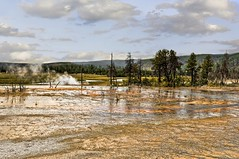 BISCUIT BASIN (bydamanti) Tags: landscape landscapes yellowstonenationalpark yellowstone geysers usnationalparksandplaces usnationalparks biscuitbasin nationalparkphotography 1802000mmf3556 yellowstonevalleysandviews nationalparksnationalmonuments