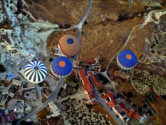 Hot Air  Balloons flight over the valleys of Cappadocia (maios) Tags: hot turkey balloons air flight over aerial hotairballoons cappadocia valleys kapadokya uchisar nevsehir ballonning ortahisar maios    hotairballoonsflightoverthevalleysofcappadocia