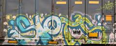 Slots (Skyline Crony) Tags: street art bench graffiti midwest streak cincinnati tag boxcar piece burner bomb freight slots krylon autorack rusto ironlak
