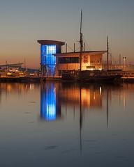 Kingfisher (Martyn Hasluck) Tags: uk sea seascape reflection water reflections boats coast boat fishing fisherman nikon harbour devon nikkor westcountry brixham commercialfishing leefilters d700