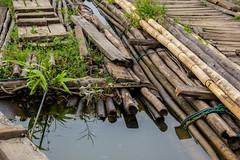 (Nathan A Rodgers) Tags: lake nature thailand lakes houseboat bamboo countries thai raft houseboats 2012 rafts sanghklaburi kanchanaburiprovince vajiralongkornlake