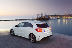 2013 Mercedes-Benz A-Class (upcomingvehiclesx) Tags: auto car mercedesbenz vehicle aklasse daimler germancar pressphoto aclass presse a250 2013 mercedesaclass mercedesbenzaclass 2013mercedesaclass