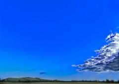 Thuas (TJ.Photography) Tags: above blue ireland sky cloud green up grass countryside high heaven farm horizon farming large hills pasture huge advance plain tipperary