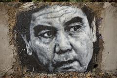 Gurbanguly Berdimuhamedow, painted portrait img_2358