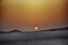 (  Abdallah Al-Qahtani   ) Tags: road sky sun set desert