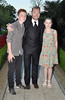 Ronan Keating with son Jack Keating and daughter Missy Keating, at the 13th Marie Keating Foundation Celebrity Golf dinner at the K