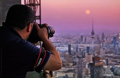 Captures Kuwait City (khalid almasoud) Tags: city sunset canon eos all photographer time  award rights express kuwait yourself khalid reserved captures greatphotographer    50d almasoud flickraward  thebestofday gnneniyisi