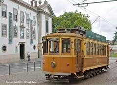 Batalha-Guindais (ernstkers) Tags: portugal porto streetcar tram tramvia tranvia trolley brill stcp 131 stcp131 eléctrico strasenbahn bonde spårvagn