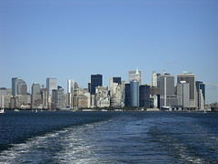 "Downtown Manhattan from ferry • <a style=""font-size:0.8em;"" href=""http://www.flickr.com/photos/59137086@N08/7892041714/"" target=""_blank"">View on Flickr</a>"