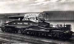 Kruppscher Geschütztransportwagen (✠ drakegoodman ✠) Tags: cannon worldwarone artillery ww1 greatwar firstworldwar worldwar1 weltkrieg howitzer germanarmy rppc feldpost