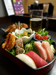 Today Special - Tuna Deluxe Set (どこでもいっしょ) Tags: food canada cuisine bc sashimi sony cybershot japaneserestaurant dining japanesefood gournet guuinaberdeen hx30v sonyhx30v tunadeluxeset