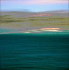 California Dreaming( Explore ) (Karen McQuilkin) Tags: ocean sunset abstract pacific impressionist icm californiadreaming intentionalcameramovement karenandmc