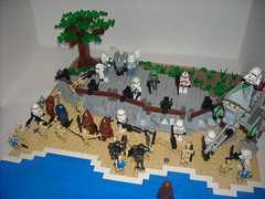 The Invasion Of Kashyyyk (martinbrick12) Tags: 3 trooper stars army star three war lego iii battle troopers clones duel wars clone defense invasion episode improvement droid battles lll vast droids moc offense armies kashyyyk martinbrick12