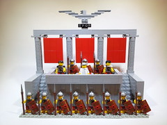 """All Hail Caesar"" (Project Azazel) Tags: rome google lego roman pa spqr googleimages legoromans projectazazel legorome"