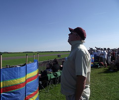 Spectator at an air show (Snapshooter46) Tags: airshow duxford spectator imperialwarmuseum may2012