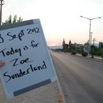 "Today is for Zoe Sunderland <a style=""margin-left:10px; font-size:0.8em;"" href=""http://www.flickr.com/photos/59134591@N00/7954071728/"" target=""_blank"">@flickr</a>"